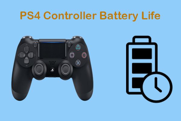 Kako dobiti najbolje trajanje baterije PS4 kontrolera? Savjeti su ovdje! [MiniTool vijesti]