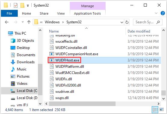 Uvod u WUDFHost.exe i način da se to zaustavi [MiniTool Wiki]