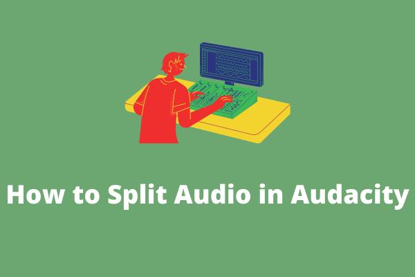 Hogyan lehet megosztani az audiot Audacity-ben - megoldva