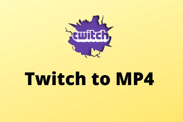 Twitch para MP4 - Como converter Twitch Clip para MP4 gratuitamente