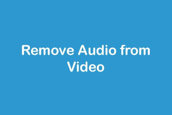 ویڈیو سے آڈیو کو کیسے ہٹایا جائے - 7 طریقے جو آپ کو معلوم ہونا چاہئے