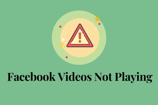 Risolto - I video di Facebook non vengono riprodotti su telefono / Chrome
