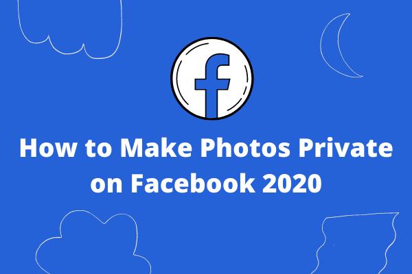 Kuidas fotosid Facebookis privaatseks muuta