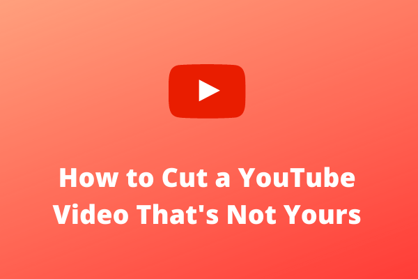 Riješeno - kako izrezati YouTube video koji nije vaš