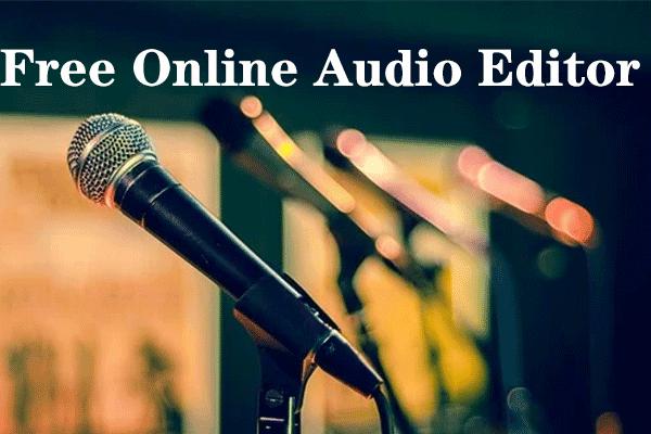 I 5 migliori editor audio online gratuiti per modificare facilmente l'audio online