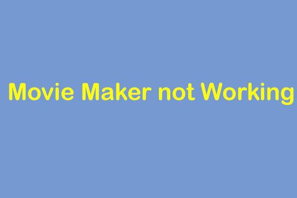 Lahendatud - Windows Movie Maker ei tööta (Windows 10/8/7)
