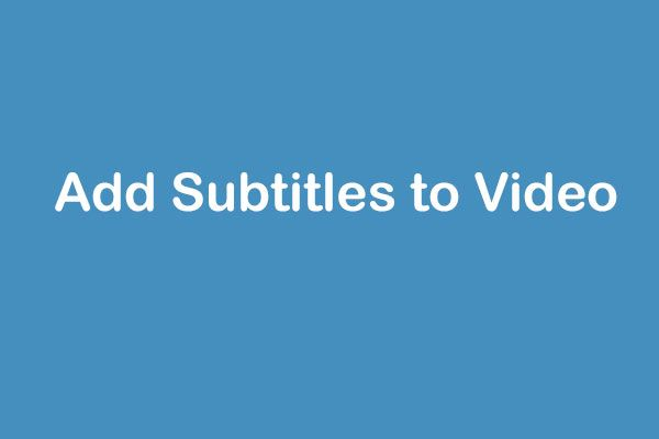 Kas peate lisama video tasuta subtiitrid? Proovige 2 lihtsat viisi!