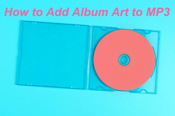 Lahendatud - kuidas lisada albumi kujundust MP3-le