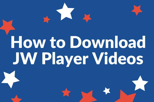 جے ڈبلیو پلیئر ویڈیوز (کروم اور فائر فاکس) ڈاؤن لوڈ کرنے کا طریقہ
