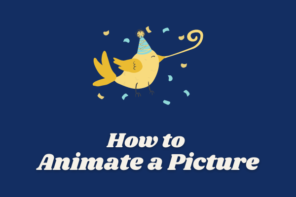 Cómo animar una imagen en 2021 [Guía definitiva]