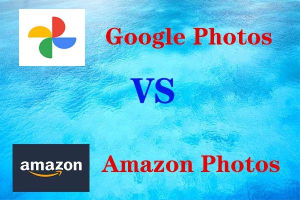 Amazon Fotoğrafları ve Google Fotoğraflar - Hangisi Daha İyi?