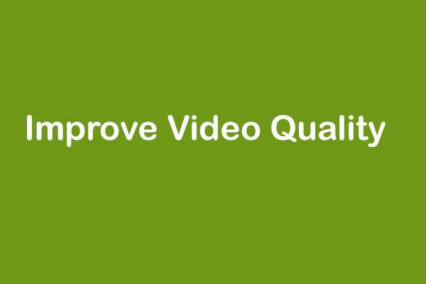 A legjobb 7 videoszerkesztő szoftver - javítsa a videó minőségét egyszerűen