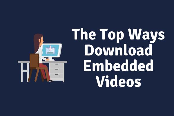 4 galvenie iegulto videoklipu lejupielādes veidi