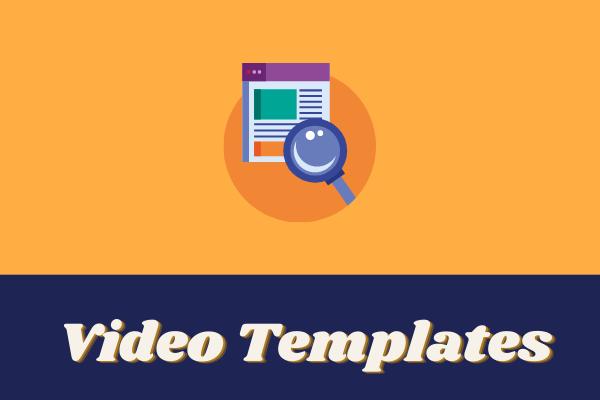 Šablóny videa - Kde získať a ako používať