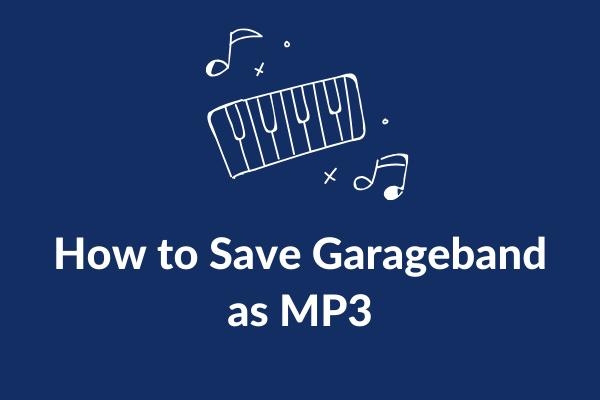 Hogyan menthető a Garageband MP3 + 4 legjobb Garageband alternatívaként