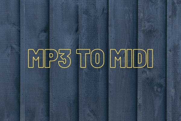 Resuelto - Cómo convertir MP3 a MIDI rápidamente [Consejos de MiniTool]