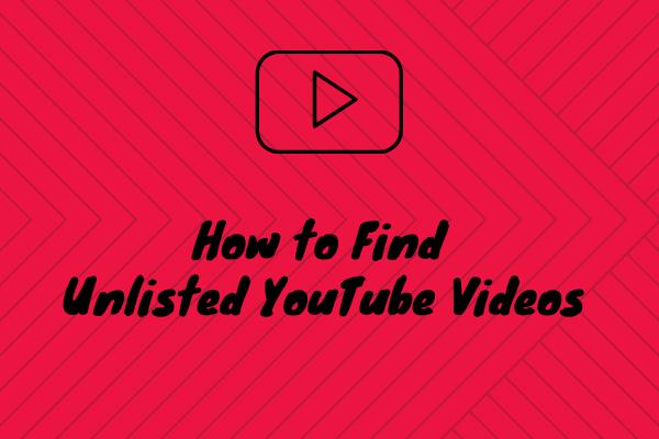 Liste Dışı YouTube Videolarını Bağlantı Olmadan Bulma