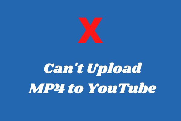 Por qué no se puede subir MP4 a YouTube: razones y soluciones