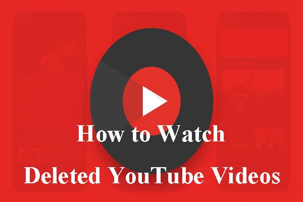 Como assistir a vídeos excluídos do YouTube - 2 métodos