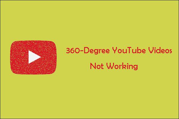 Video YouTube 360-darjah Tidak Berfungsi - 5 Kaedah yang Ada