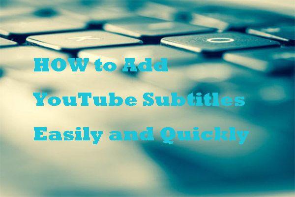 วิธีเพิ่มคำบรรยายลงในวิดีโอ YouTube อย่างง่ายดายและรวดเร็ว