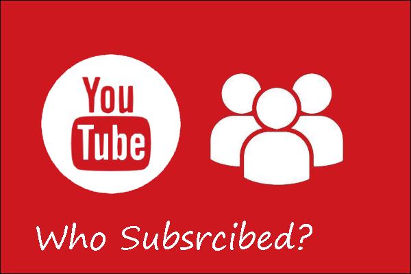 ¿Cómo ver quién se ha suscrito a tu canal en YouTube?