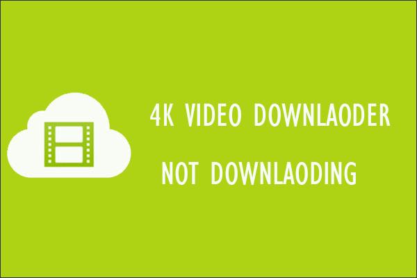 Cómo reparar el error del descargador de video 4K: ¿No se puede descargar?