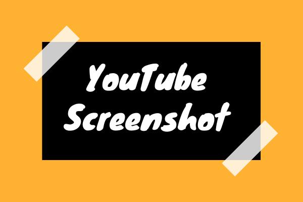 YouTube'i ekraanipilt - 4 viisi YouTube'is ekraanipiltide tegemiseks