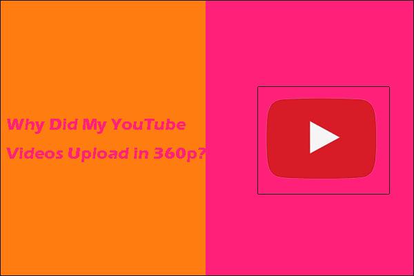 [Riješeno!] Zašto su se moji YouTube videozapisi prenijeli u 360p?