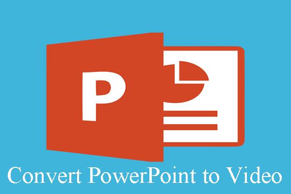 A PowerPoint konvertálása videóra (Windows és Mac)